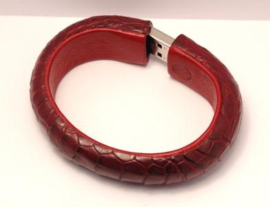 bracelet croco usb